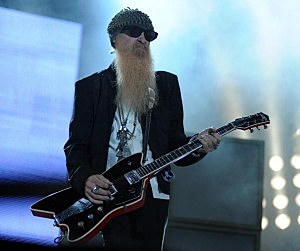 ZZ Top Perform at Place du Palais for Monaco Live Festival
