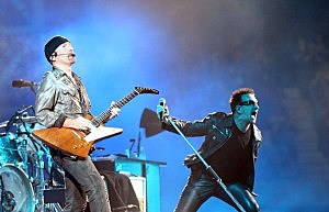 U2 and Jay-Z Perform In Melbourne