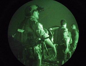 U.S. Navy Seals Prepare For Night Mission In Fallajah