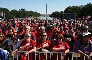 Union Groups, Civil Rights Activists Rally For Jobs And Education In DC