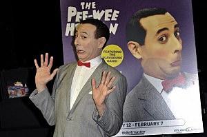 Pee-Wee Herman Press Conference
