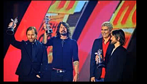 Foo Fighters at MTV VMA