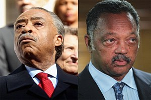 Rev. Al Sharpton And Rev. Jesse Jackson
