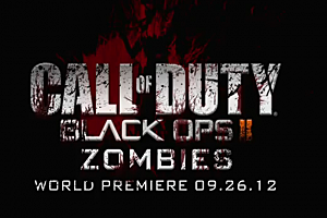Call Of Duty: Black Ops II 'Zombies' Logo