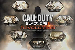 Call of Duty: Black Ops 2 'Revolution' poster