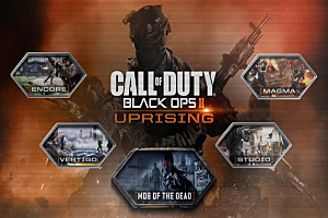Black Ops 2 'Uprising' DLC Poster.