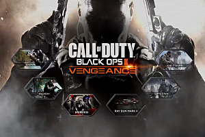 Call Of Duty: Black Ops 2 'Vengeance' DLC poster