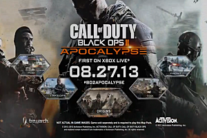 Call of Duty: Black ops 2 'Apocalypse' DLC poster