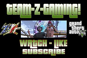 TEAM-Z-GAMING! YouTube Channel Art