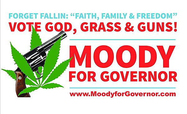 Moody For Gov